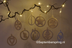 10 kerst-ornamenten