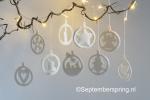 2 kerst-ornamenten