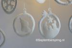 4 kerst-ornamenten