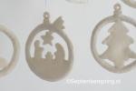 9 kerst-ornamenten