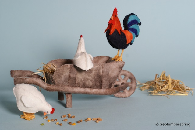 Boer wat zeg je van mijn kippen?