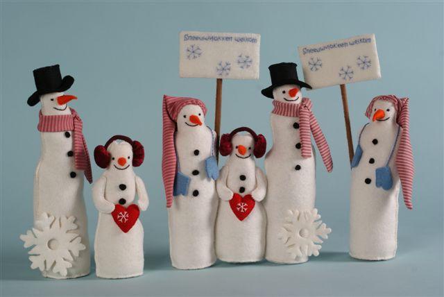 Sneeuwpoppenkrans variatie
