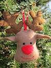 Rudolf ornament
