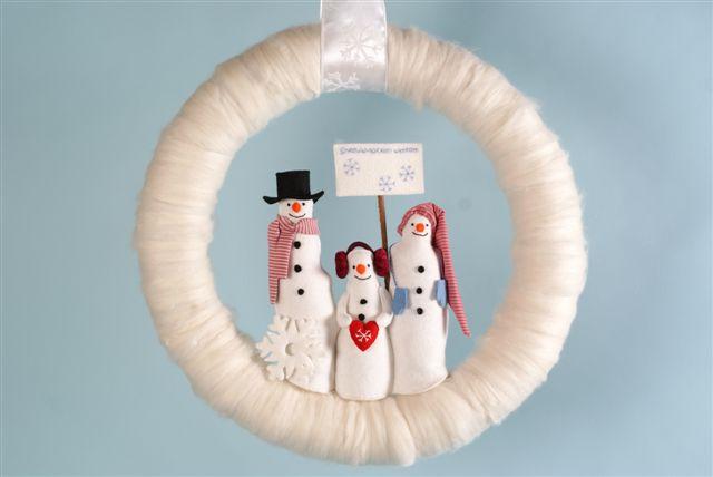 Sneeuwpoppenkrans