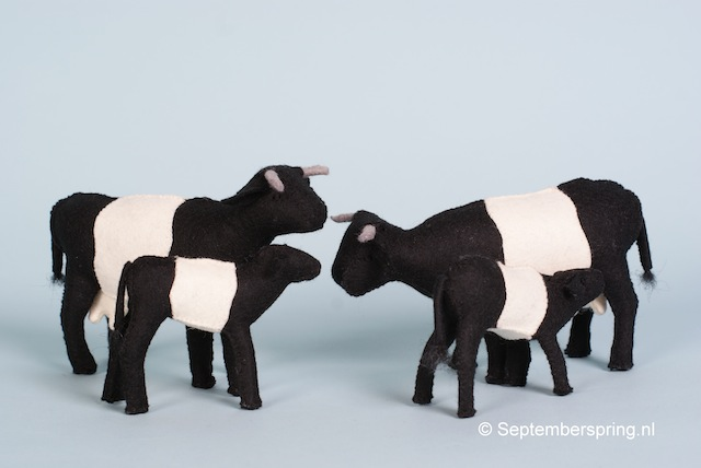 Koeien met kalfjes