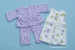 Pyjama en nachthemd voor Poppie