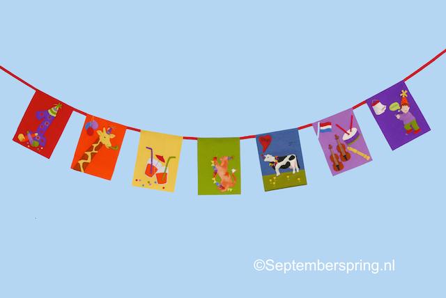verjaardagsliedjesvlaggen